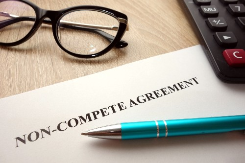 Make sure to review your non-compete agreement for any mistakes.